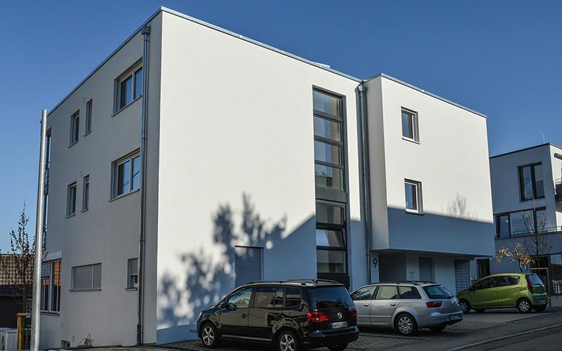 Gebäude - Allgemeinarztpraxis Hegnach
